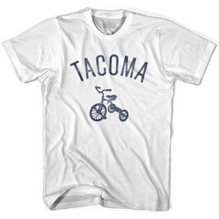 Tacoma City Tricycle Youth Cotton T-shirt by Ultras