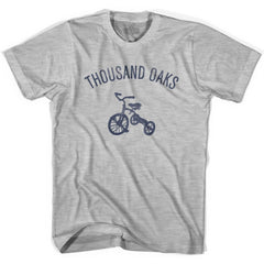 Thousand Oaks City Tricycle Womens Cotton T-shirt by Ultras
