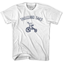 Thousand Oaks City Tricycle Youth Cotton T-shirt by Ultras