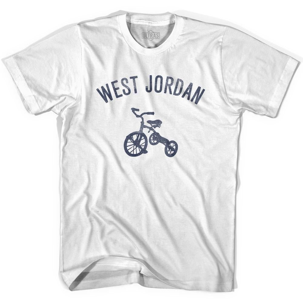 West Jordan City Tricycle Womens Cotton T-shirt by Ultras