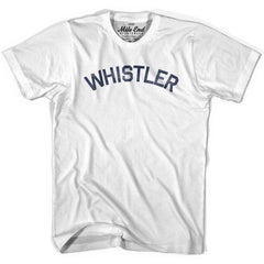 Whistler City Vintage T-shirt in Grey Heather by Mile End Sportswear