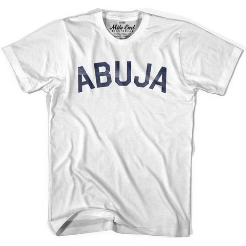 Abuja City Vintage T-shirt-Adult