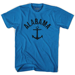 Alabama State Anchor Home Cotton Adult T-shirt by Ultras