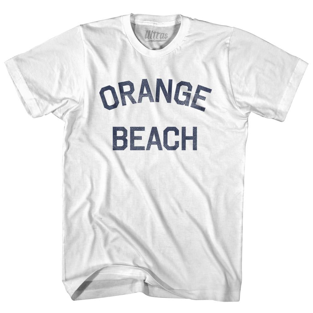 Alabama Orange Beach Youth Cotton Vintage T-shirt by Ultras