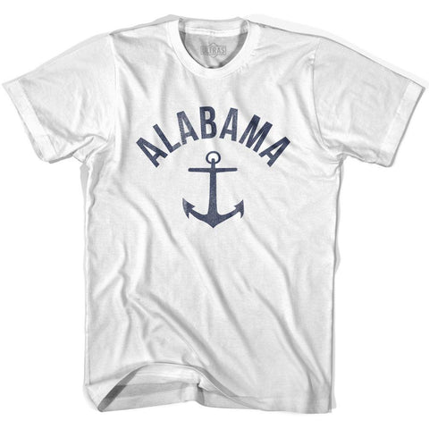 Alabama State Anchor Home Cotton Womens T-shirt