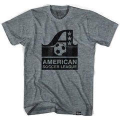ASL American Soccer League Vintage T-shirt in Athletic Grey by Ultras