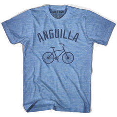 Anguila Vintage Bike T-shirt in Athletic Blue by Mile End Sportswear