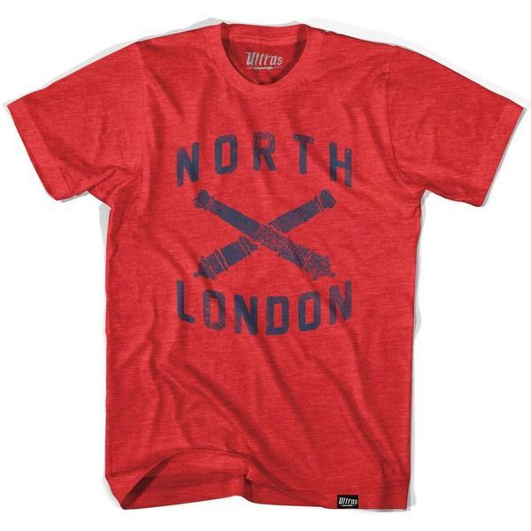 Arsenal North London T-shirt in Red by Ultras