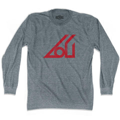 Ultras Atlanta Apollo Soccer Ultras Soccer Long Sleeve T-shirt in Athletic Grey by Ultras