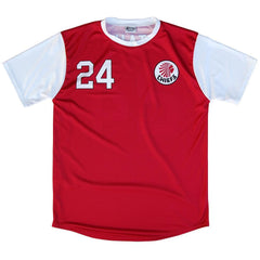 Kaizer Motaung Atlanta Chiefs Soccer Jersey in Red by Ultras