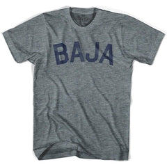 Baja City Vintage T-shirt in Athletic Grey by Mile End Sportswear