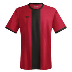 Ultras Custom Bar Down Team Soccer Jersey in Black/DarkRed by Ultras