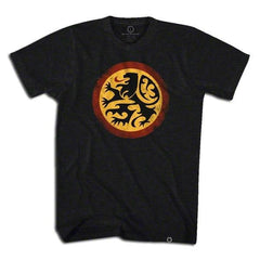 Belgium Lion Soccer T-shirt in Black by Ultras