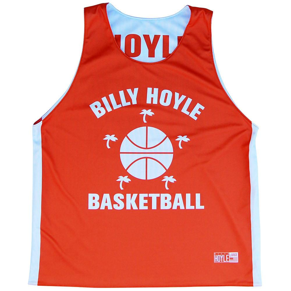 Billy Hoyle Five Palms Basketball Reversible in Orange & White by Billy Hoyle