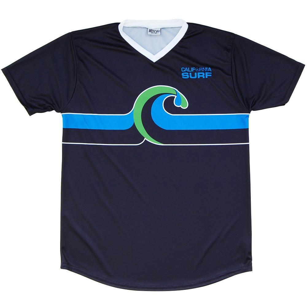 California Surf Soccer Jersey in Navy by Ultras