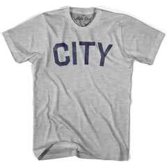 City Vintage T-shirt in White by Mile End Sportswear
