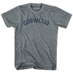 Corvallis City T-shirt in Athletic Blue by Mile End Sportswear