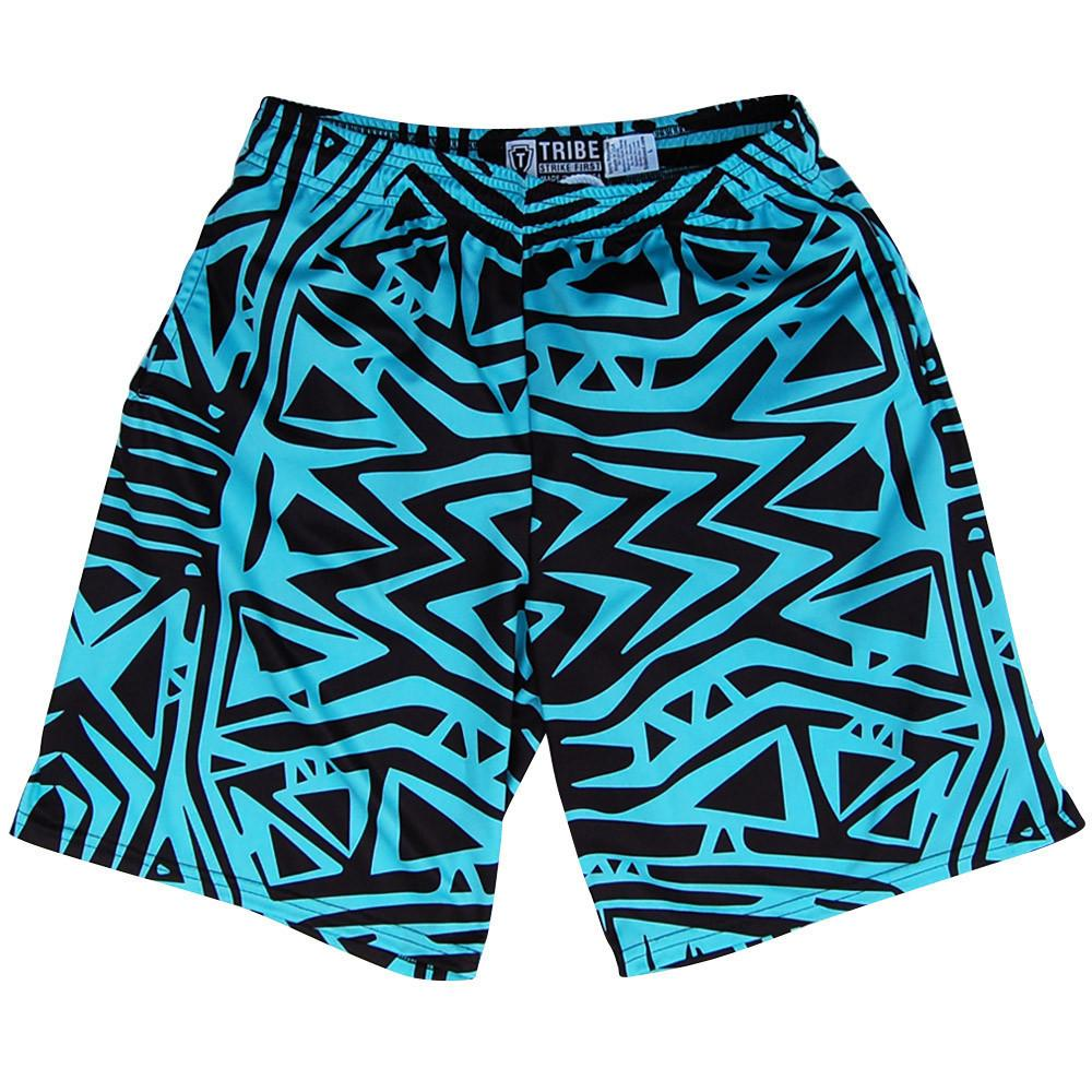 Tribe Creek Lacrosse Shorts in Mint by Tribe Lacrosse