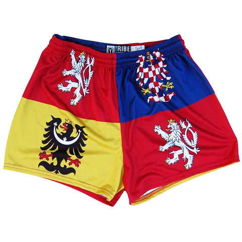 Czech Republic Crest Womens & Girls Sport Shorts by Mile End