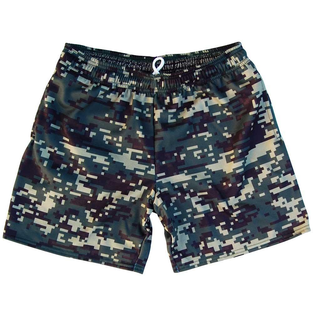 Army Digital Athletic Fleece Sweat shorts By Ultras