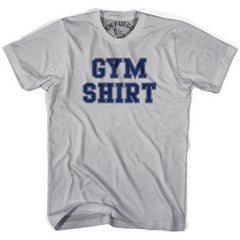 Gym Shirt T-shirt in Cool Grey by Billy Hoyle
