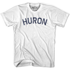 Huron City Vintage T-shirt in White by Mile End Sportswear