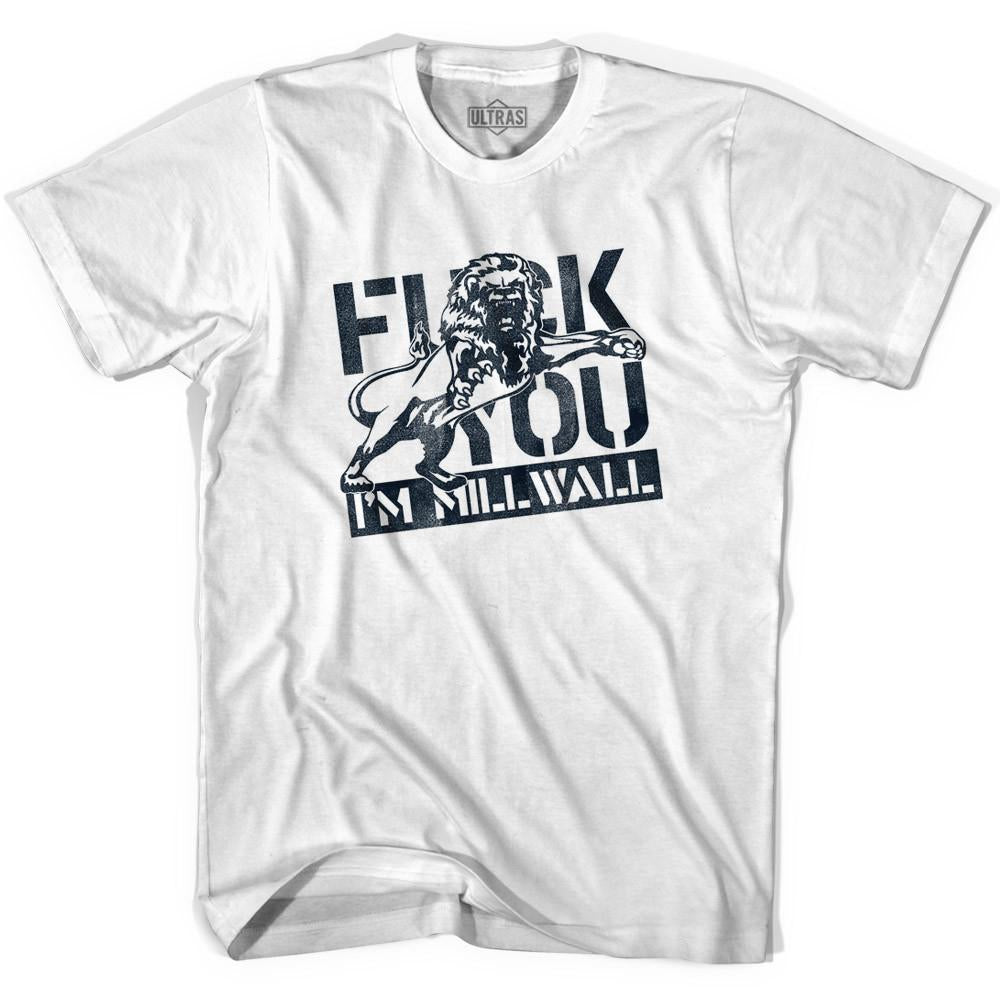 Ultras I'm Millwall Soccer T-shirt in White by Ultras