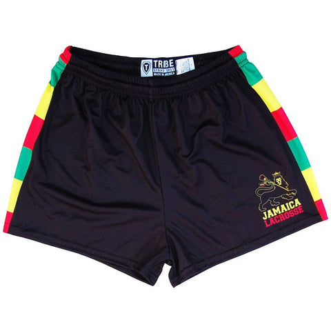 Jamaica Womens & Girls Sport Shorts by Mile End