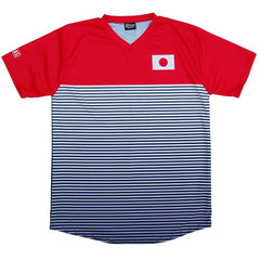 Japan Rise Soccer Jersey in Navy by Ultras
