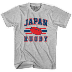 Japan 90's Rugby Ball T-shirt in White by Ruckus Rugby
