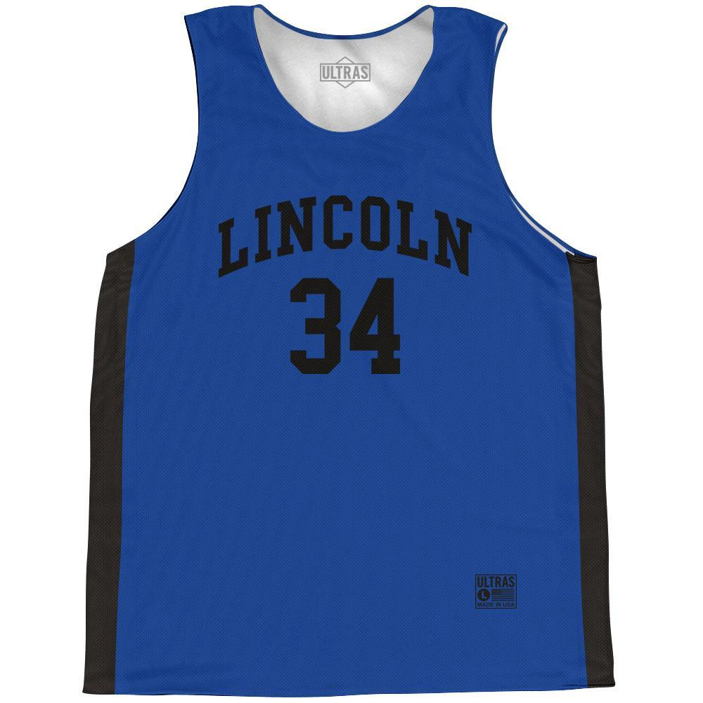 Jesus Shuttlesworth Lincoln #34 Basketball Practice Singlet Jersey BY Ultras Basketball