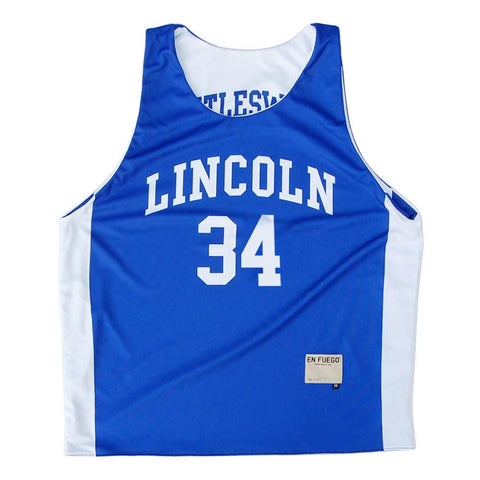 Lincoln Jesus Shuttlesworth #34 Sublimated Reversible