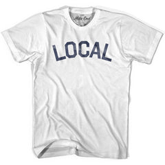 Local City Vintage T-shirt in White by Mile End Sportswear