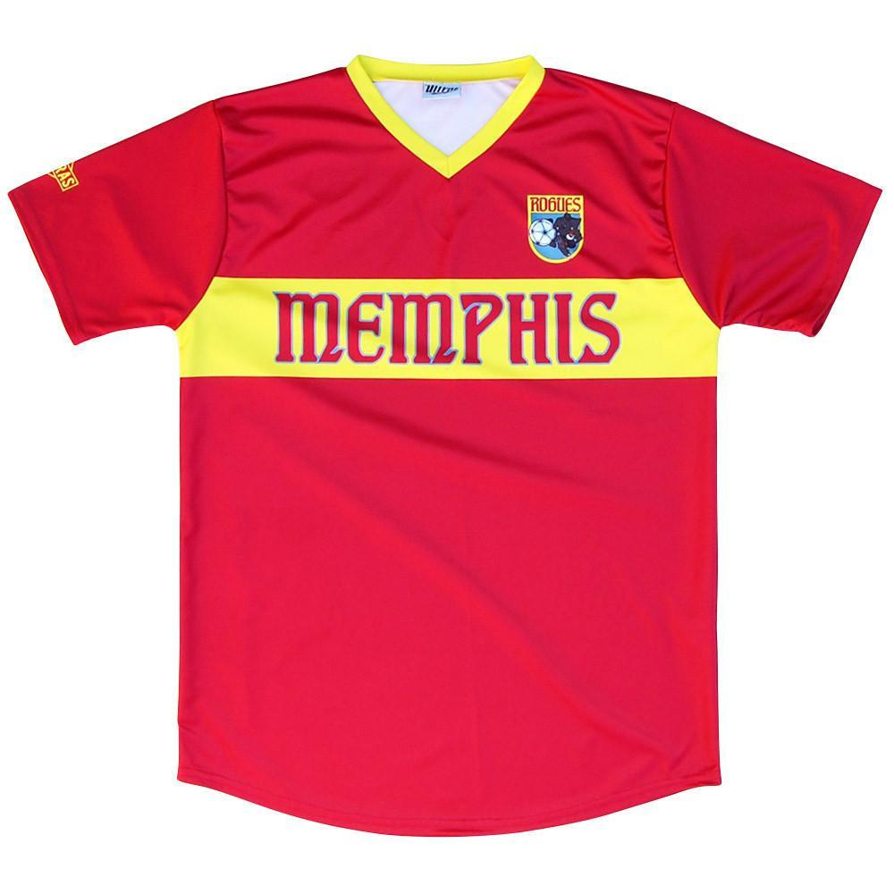 Memphis Rogues Pub Soccer Jersey in Red by Ultras
