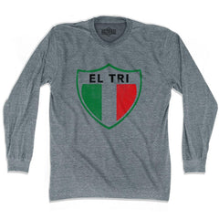 Ultras Mexico El Tri Crest Soccer Long Sleeve T-shirt by Ultras