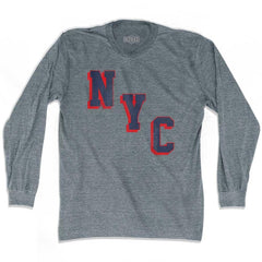 New York NYC Miracle Ultras Soccer Long Sleeve T-shirt by Ultras