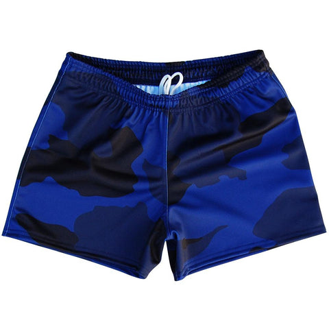 Navy Camo Rugby Union Shorts