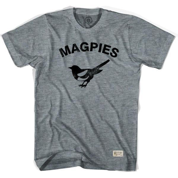 Newcastle United Magpies Soccer T-shirt in Athletic Grey by Ultras
