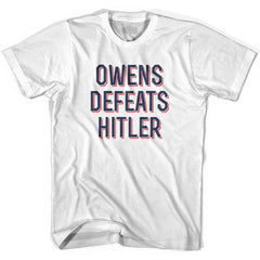 Owens Defeats Hitler Ultras Soccer T-shirt by Ultras