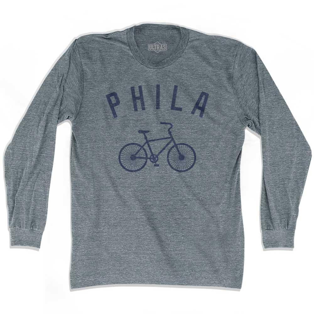 Philadelphia Phila Vintage Bike Soccer long sleeve T-shirt by Ultras