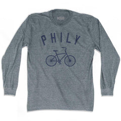 Philadelphia Philly Vintage Bike Soccer long sleeve T-shirt by Ultras