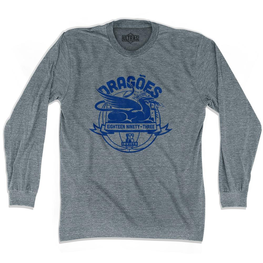 Ultras Porto Dragoes Dragons Soccer Long Sleeve T-shirt by Ultras