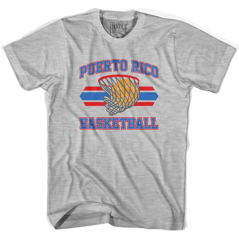 Puerto Rico 90's Basketball T-shirts