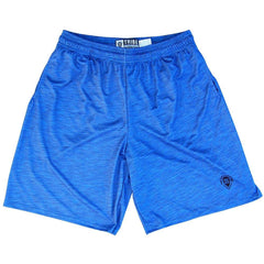 Tribe Royal Lacrosse Shorts in Royal by Tribe Lacrosse