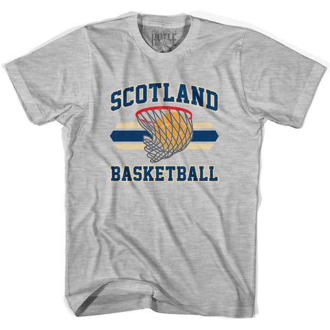 Scotland 90's Basketball T-shirts