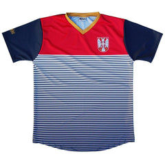 Serbia Rise Soccer Jersey by Ultras