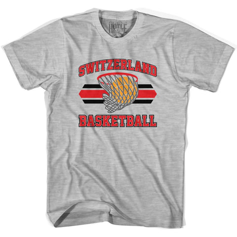 Switzerland 90's Basketball T-shirts