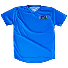 Hawaii Team Retro Soccer Jersey in Aqua by Ultras