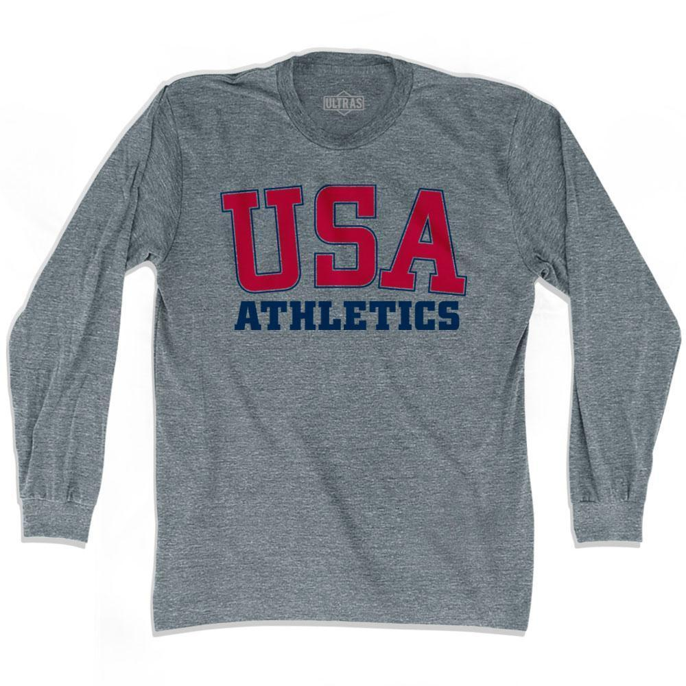 USA Athletics Ultras Long Sleeve T-shirt by Ultras