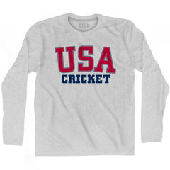 USA Cricket Ultras Long Sleeve T-shirt by Ultras
